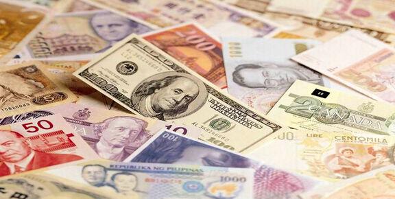 کاهش نرخ رسمی یورو و ۱۷ ارز دیگر