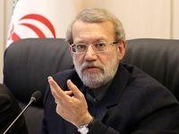 صحبتهای علی لاریجانی درباره احمدینژاد +فیلم