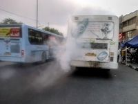 اتوبوسهای دودزا با گزارش شهروندان، رفع نقص شدند/درخواست شهرداری از همه نهادها برای جلوگیری از تکرار حادثه دانشگاه آزاد
