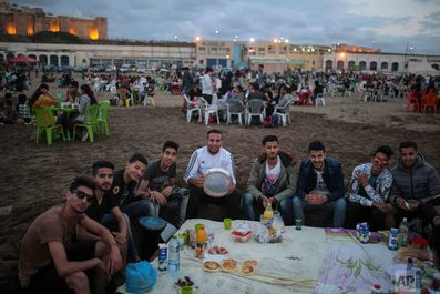 آخرین روز ماه رمضان در مراکش