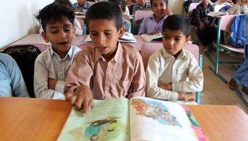 مشقتهای درس خواندن برای کودکان چابهاری +عکس