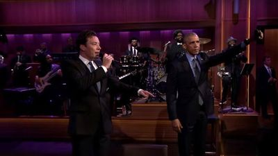 وقتی اوباما درباره برجام آواز میخواند +عکس