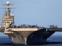 استقرار ناو هواپیمابر «ترومن» در خلیج فارس پس از غیبت پنج ماهه