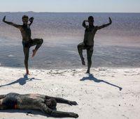 این روزهای دریاچه ارومیه +عکس