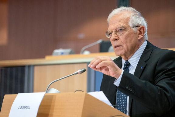 «جوزف بورل» از نشست مقامات اروپا با محوریت ایران خبر داد