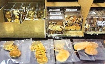 سکه با اونس طلا پایین میرود؟