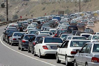 ترافیک نیمه سنگین در جادههای شمالی