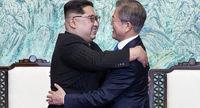 رهبران دو کره با هم به کوهنوردی میروند