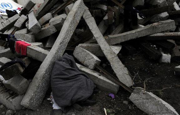 2کشته و یک مصدوم در حادثه ریزش آوار در کارخانه گچ