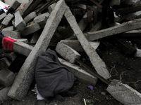 مرگ ۳کودک حین بازی زیر دیوار گلی