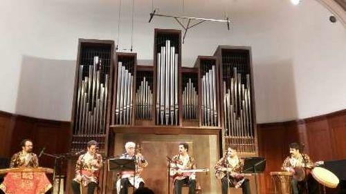 اجرای موسیقی ایرانی در پایتخت روسیه +عکس