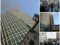 آتشسوزی در دانشکده خبر +تکمیلی