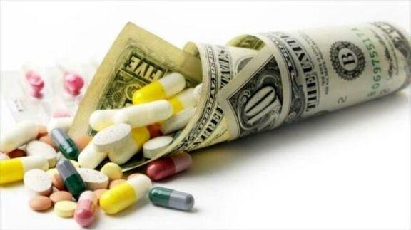 ماده اولیه بعضی داروها نیز تحریم است