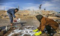 قالیشویی سنتی در روستاهای بجنورد +عکس