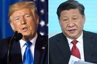 برخورد عجیب ترامپ با رییس جمهور چین!