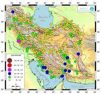 زلزله بیش از ۸۰۰بار ایران را لرزاند