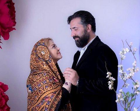 عکس عیدانه بهاره رهنما و همسرش