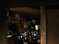 آتشسوزی ساختمان ۱۳ طبقه در سعادتآباد +تصاویر