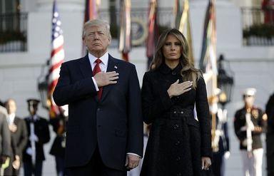 ترامپ و ملانیا