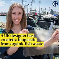 ساخت پلاستیک یک بار مصرف از ماهی!