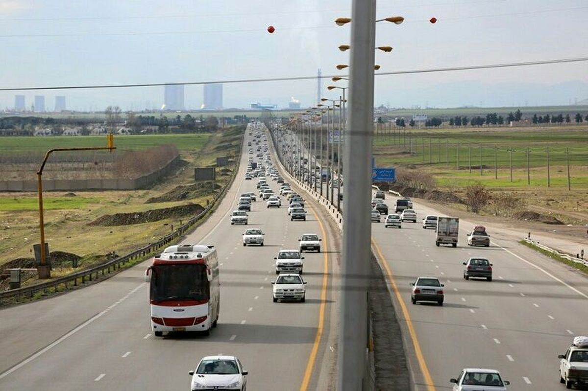 کاهش ۰/۵درصدی تردد در محورهای برون شهری