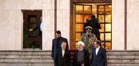 مراسم بدرقه رییس جمهور به ترکیه +تصاویر