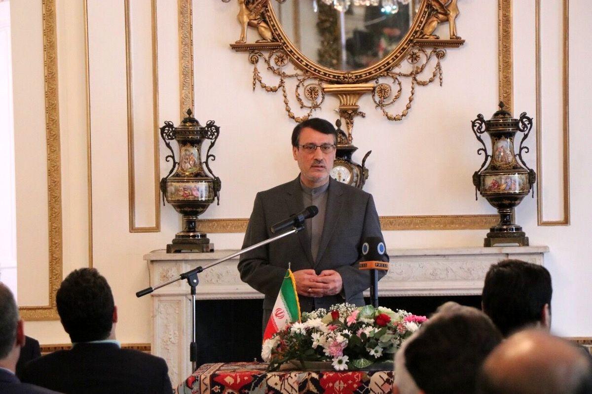 ظرفیت زیادی برای گسترش مناسبات اقتصادی با انگلیس وجود دارد/ ایران با یأس تحولات اینستکس را دنبال میکند