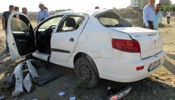 واژگونی یک سواری ۲کشته برجا گذاشت