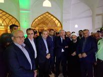بازدید شبانه مونسان از مسجد جامع سوخته ساری