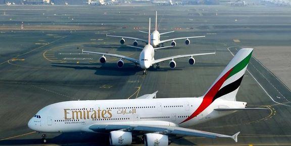 کرونا، کارمندان هواپیمایی امارات را به مرخصی فرستاد
