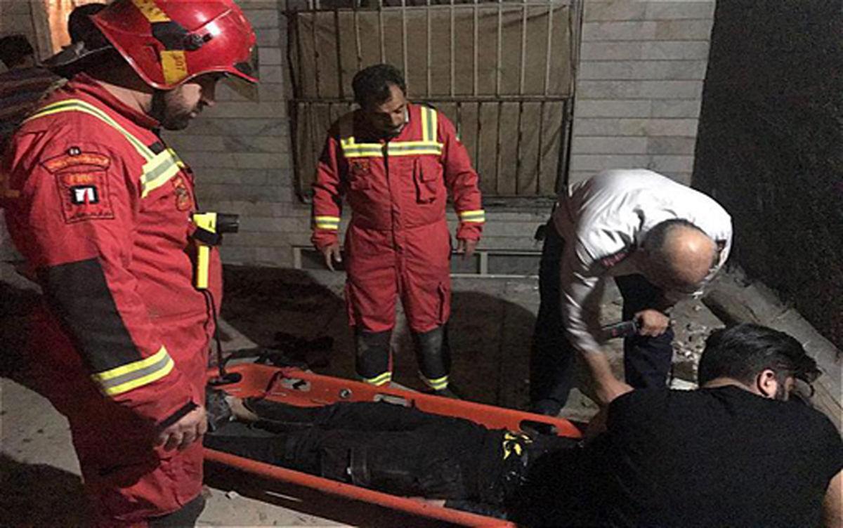 مرگ مرد ۴۸ ساله بهدلیل سقوط از طبقه سوم یک ساختمان