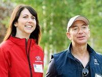 طلاق ۳۵ میلیارد دلاری رئیس آمازون +عکس