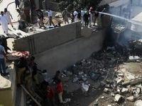 سقوط هواپیما در پاکستان