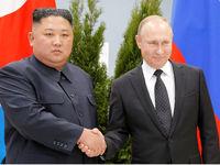 دیدار رسمی پوتین با اون +تصاویر