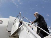 سورپرایز شدن ظریف در هواپیما  + عکس
