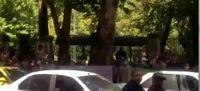 تجمع بازنشستگان شرکت واحد اتوبوسرانی تهران +فیلم