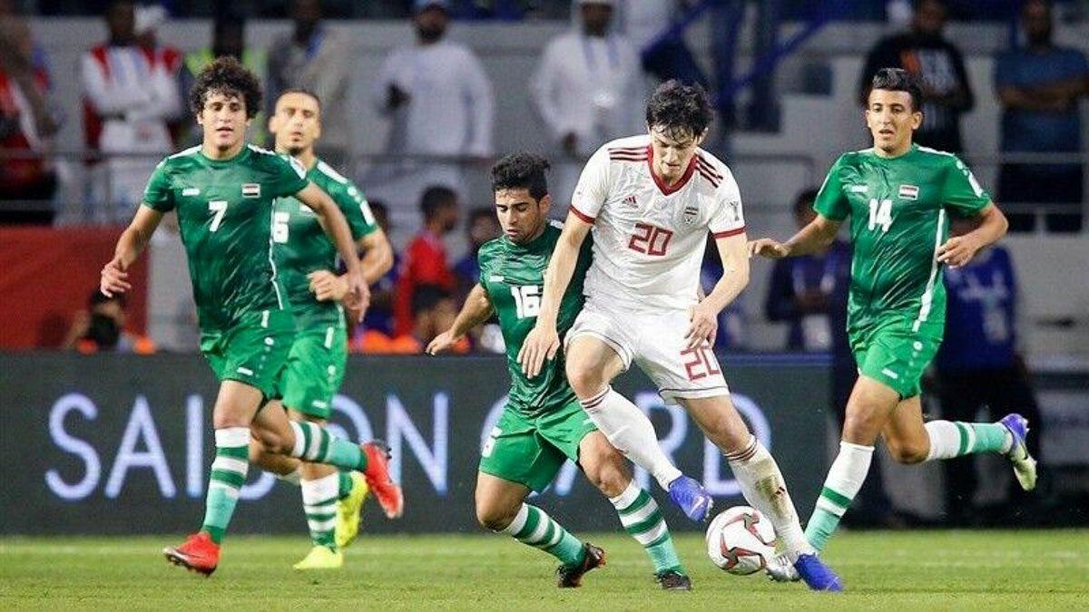 شکست سنگین عراق مقابل تیم ملی فوتبال ایران