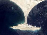 ناپدید شدن یک جزیره در پاکستان! +عکس