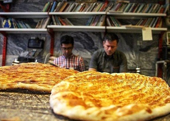 نان با آرد دولتی هم اینجا گران شد!