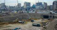 ساخت بزرگترین زیرگذر کربلا به دست ایرانیها +عکس