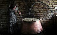 پخت شیره در اراک +عکس