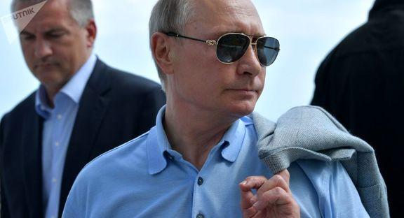 دیدار پوتین با سوپر من در میدان سرخ +عکس