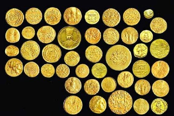 کشف 35سکه تاریخی در شهرستان مانه و سملقان