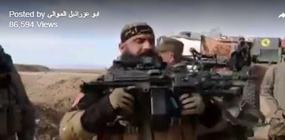 ابو عزراییل از سلاح جدیدش رونمایی کرد +تصاویر