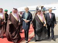 بیحجابی ترزا می در عربستان جنجال به پا کرد