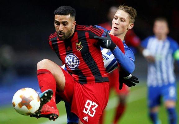 پسر خوزستانی، ستاره فوتبال سوئد +عکس