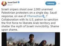 انتقاد ظریف از همراهی عربستان با آمریکا در تحریم حزبالله