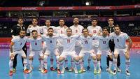 گل چهارم تیم ملی فوتسال ایران به آمریکا + فیلم