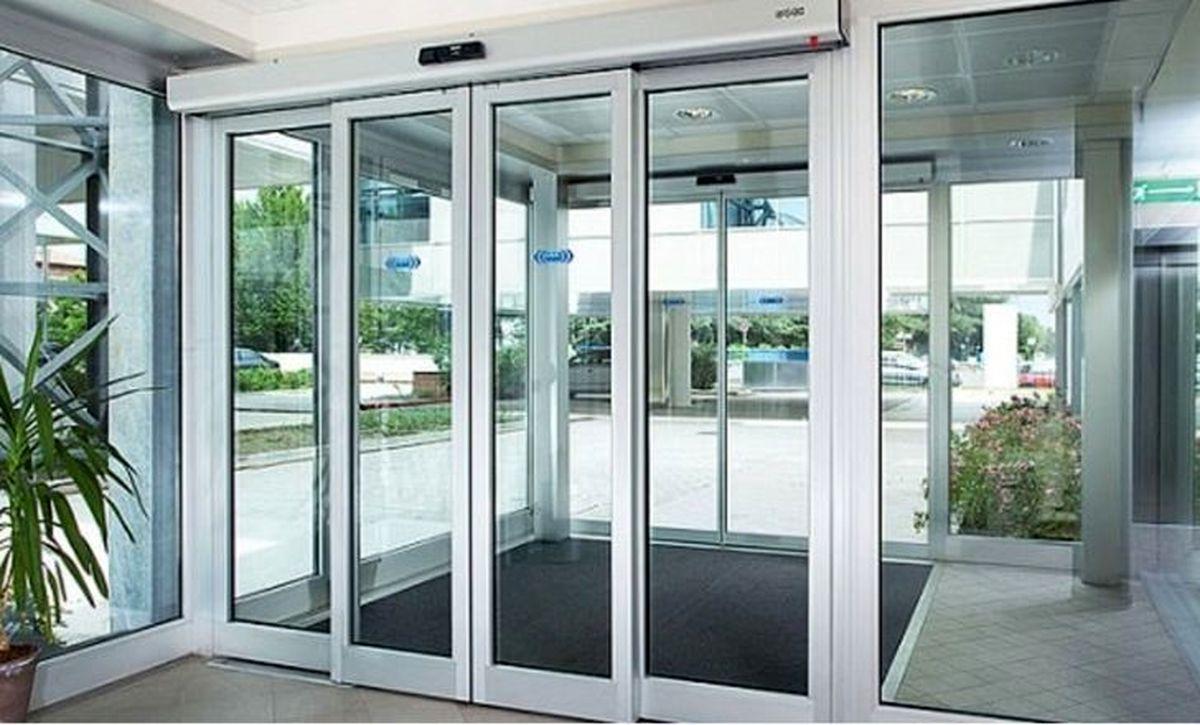 انواع درب برقی ; افزایش ایمنی و آسایش در ساختمان