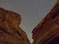 کهکشان راه شیری برفراز دریاچه ارومیه +تصاویر